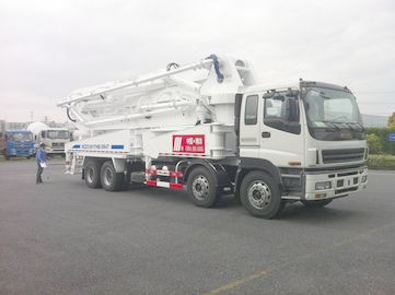 چین 8x4 SSAB Steel ISUZU 47m Truck Mounted Concrete Pump / Delivery Equipment 390HP تامین کننده