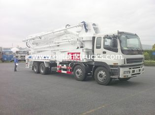 چین ISUZU Concrete Pump Trucks Delivery Equipment تامین کننده