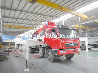 چین RHD 37m 8x4 FAW 380HP Concrete Pump Trucks with Diesel engine تامین کننده
