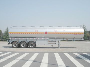 چین 3x12T BPW Fuel Oil Tank Trailer توزیع کننده